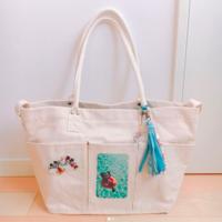 千円以下で激売れ中!ニトリの「ベジバッグ」のおしゃれリメイク♡