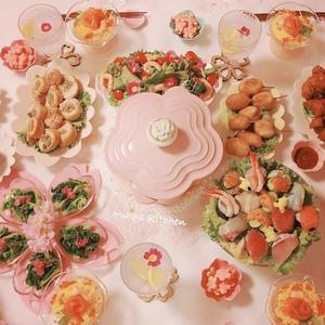 【ひな祭りごはん】おしゃれ盛り付け&テーブルコーデで見栄えUP!