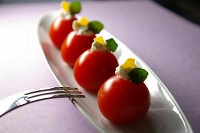 パーティー風トマト前菜