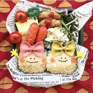 リボンパスタでお弁当をおしゃれにアップデート♡デコ弁アイデア6つ