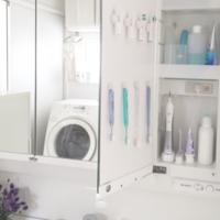工夫がいっぱい♡オシャレに整理された《洗面台の鏡裏収納》を大公開