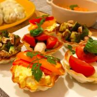 SNS映えバッチリ♡パーティーに作りたい餃子の皮のアレンジレシピ