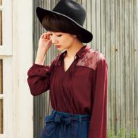 引人注目2016年的GU「蕾絲MIX」復古style穿搭♡