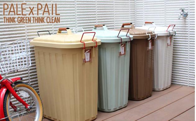 PALE×PAIL ふた付きゴミ箱