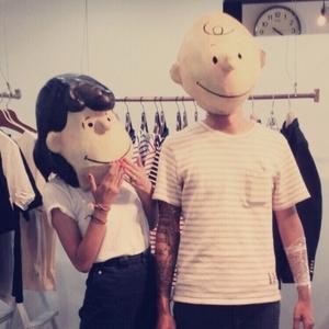 私たち夫婦が一緒にシェアしているファッションブランド。