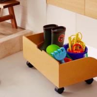 """從【亂七八糟→乾乾淨淨】☆7大""""室外玩具""""整理收納神器"""