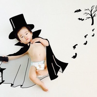 ママの指だけで完成♪赤ちゃんの可愛い『落書きアート』アイデア♡