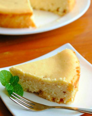しっとりおからのチーズケーキ