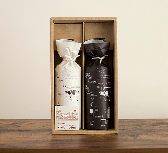 cafe notesのカフェオレベース