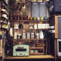 《メニューボード》が決め手!カフェ風キッチンのDIYアイデア集