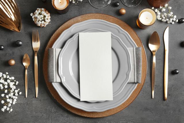 冬 テーブルコーディネート