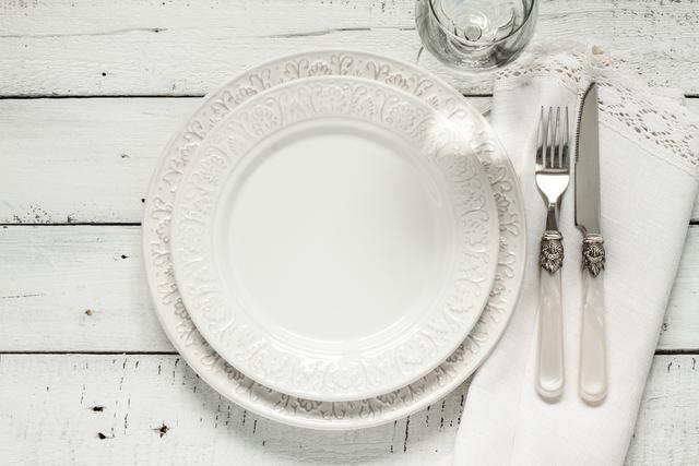 ホワイト テーブルコーディネート