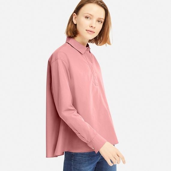 ユニクロの新作シャツ