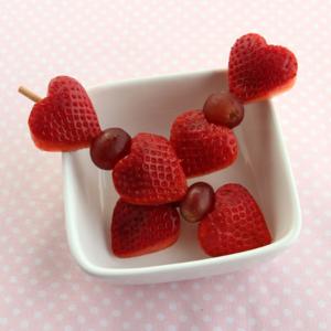 バレンタインに真似したい♡かわいいハート型の料理アイデア