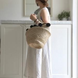 体型カバー力が魅力的♪ゆったり着られる「リネンワンピ」の夏コーデ