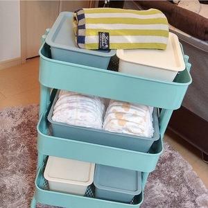 IKEAで大人気!「キャスター付き収納ラック」のおしゃれな使い方