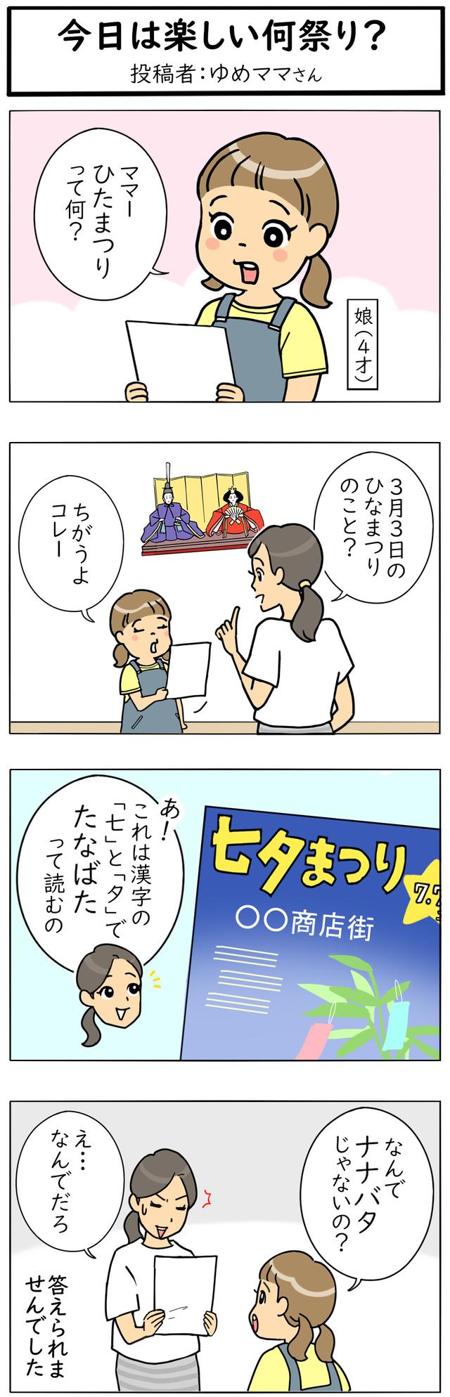 七夕4コママンガ