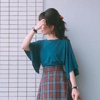 990円で叶う秋コーデ♡GUのフレアスリーブセーターが優秀!