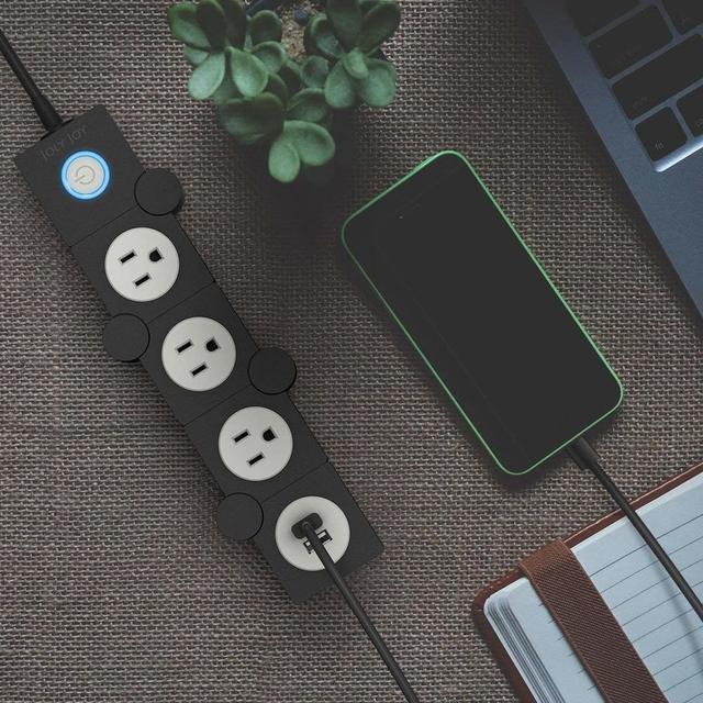 USBポートもついた電源タップ