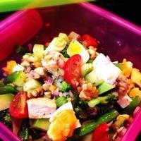 野菜たっぷり&栄養バランスもgood!チョップドサラダのススメ♡
