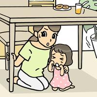 「地震だ!机の下に隠れる」は間違い?専門家に聞く本当に安全な場所