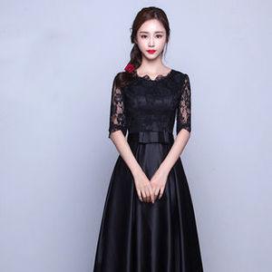 大人の魅力でキメる♡秋のお呼ばれ服は「マキシ&七分袖」ドレス!