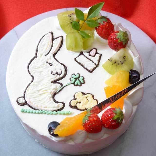 カシュカシュのケーキ