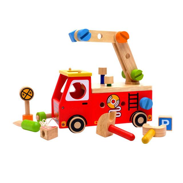 消防車のおもちゃ