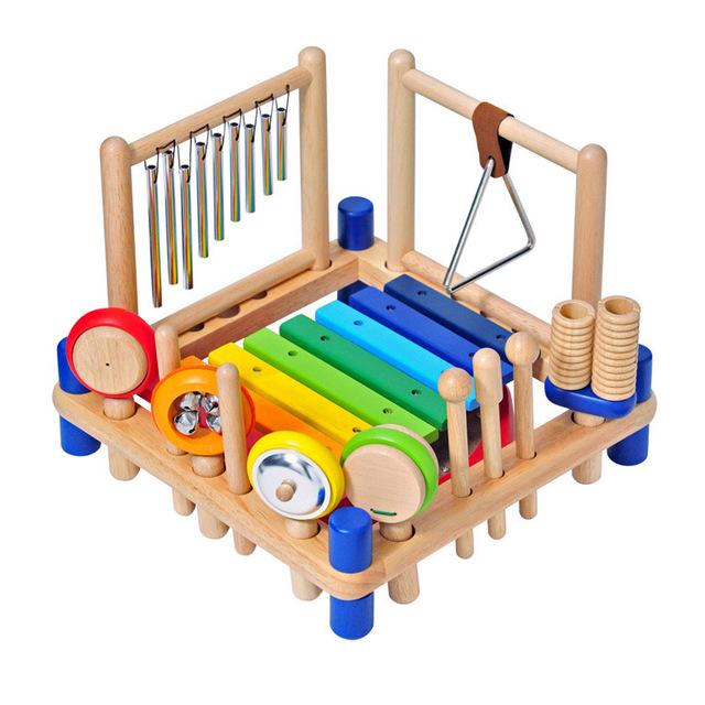 木製の楽器おもちゃ