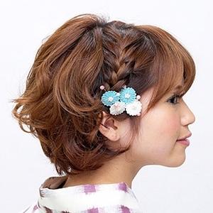 花火大会に夏祭り☆浴衣に似合うヘアアレンジ4つ《ショート編》