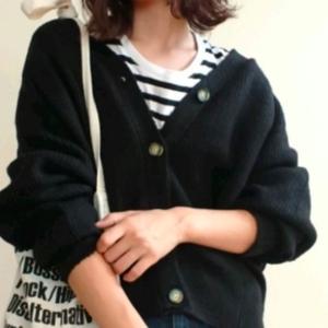 GU「ドルマンコクーンカーデ」の形が可愛いと話題♡おしゃれコーデ集