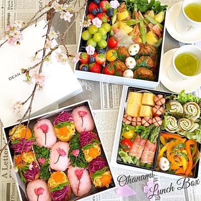 重箱を使ったお花見弁当のレシピ