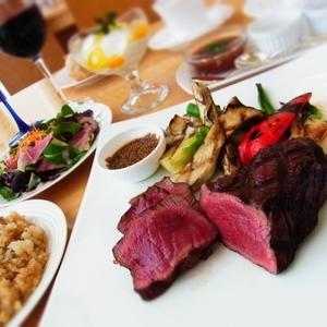湘南ドライブのディナーはお肉に決定♡平塚の「kitchen伊志川」