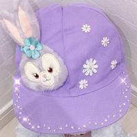 《カラー帽》をディズニーキャラに可愛くデコ♪自慢のアイテムに変身