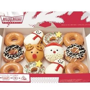 今年も可愛い♡クリスピークリームドーナツの2015クリスマス限定
