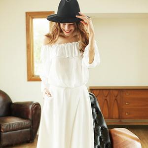 夏のキレイめママコーデが完成♡「GU」のフェミニン服が大人気!