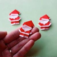 寒い冬は親子でぬくぬくお家遊び♡折り紙「サンタクロース」の作り方