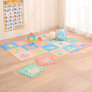 インスタ映え確実な子ども部屋に♡かわいい「パズルマット」9選