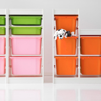 IKEAの収納ボックス「トロファスト」で子供部屋を劇的アレンジ♪