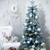 《ホワイト×グレー》がおしゃれ♡ニトリの北欧風クリスマスグッズ特集