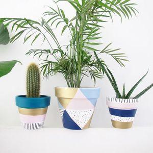 インテリアとしての価値UP!植木鉢のDIYでグリーンを楽しもう♡