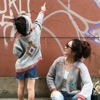 秋冬の「親子リンクコーデ」集♪お揃いファッションを楽しんで