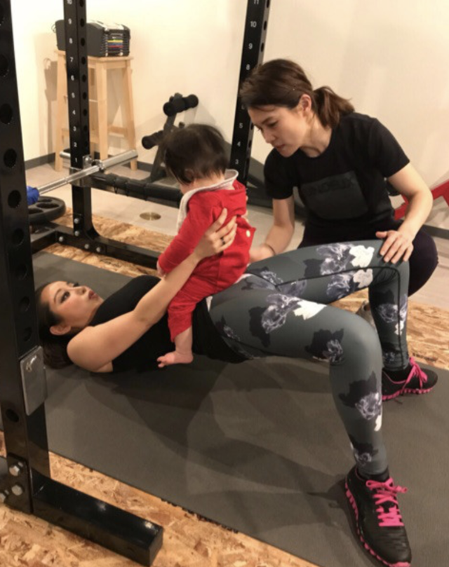 PINKYの産後トレーニング