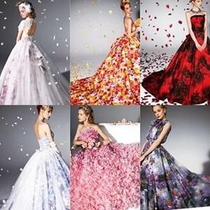 蜷川実花さんプロデュースのウェディングドレス♡Part3