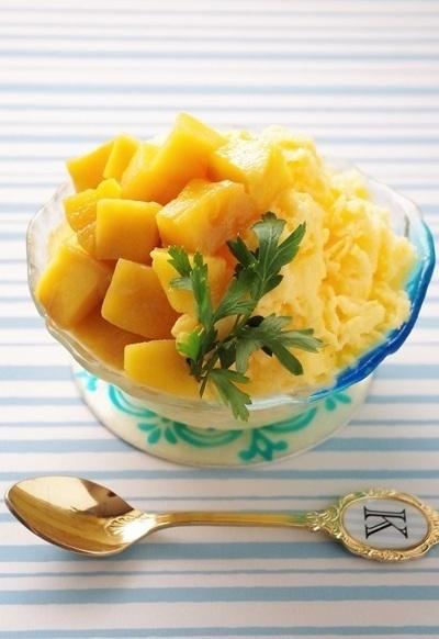 氷もマンゴー味