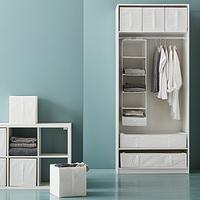 何通りも使える!IKEAで人気の収納ボックス「SKUBB」の活用術