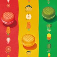 8/25〜♡ミスドの新作は赤・黄・緑の「野菜」たっぷりドーナツ!