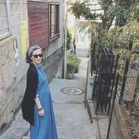 プレママ必見♡安田美沙子さんのマタニティコーデがおしゃれと話題!
