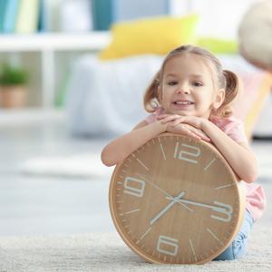 イヤイヤ期におすすめ♡忙しい帰宅後の子育ては「時計」で解決!