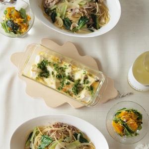 『30分』で副菜まで3品が完成♪パスタで晩ご飯の時短レシピ